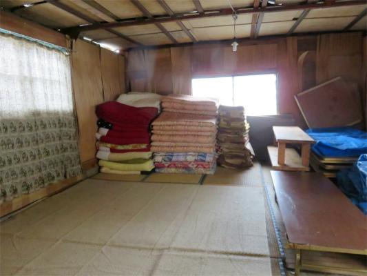 笠取小屋の冬季小屋