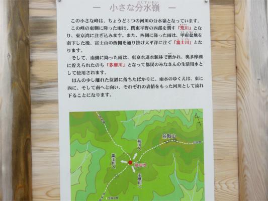 富士川・荒川・多摩川の国境