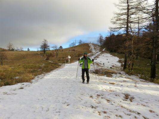 ウインタースポーツ雪道