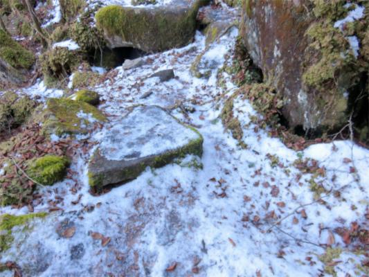 凍結している場所
