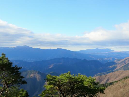 箱根・愛鷹山方面の景色