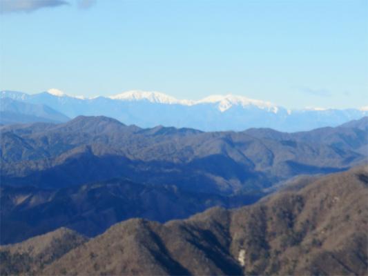 南アルプスの景色