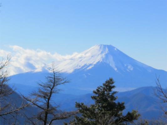 姫次から見た富士山