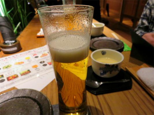 新年会鳥良西新宿店生ビール