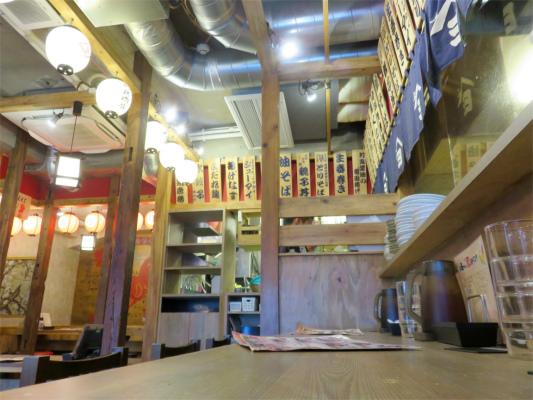 鳥良商会の内部