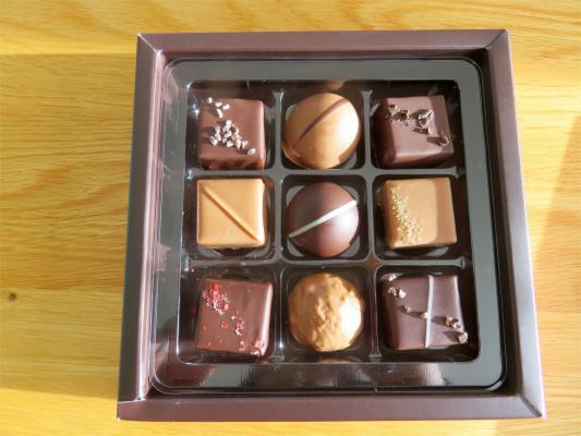 9種類のヴィタメールのチョコレート