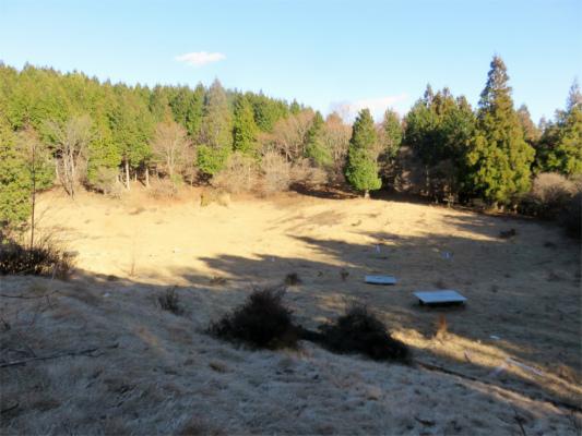 黍殻避難小屋周辺