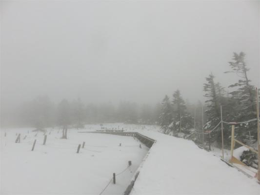 坪庭スノーハイキング