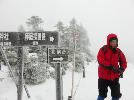 坪庭景勝路・北横岳登山道と登山者