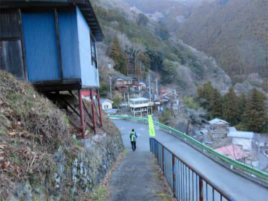 ハンノキ尾根登山口の写真