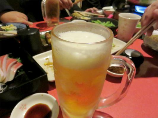 桜坂・鶏居酒宴会生ビール