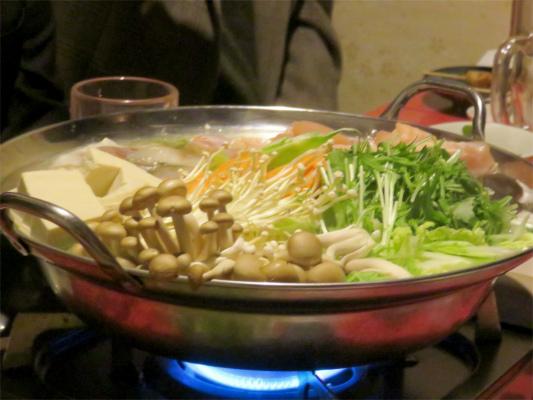鶏居酒鍋のコース