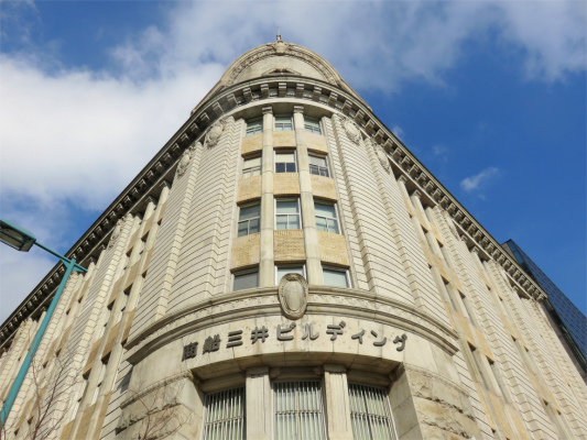 神戸旧居留地周辺商船三井ビルディング