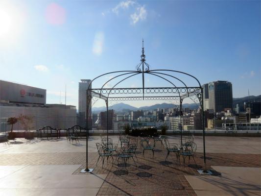 神戸大丸の屋上雰囲気が良い