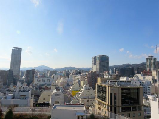 夕方の神戸の景色