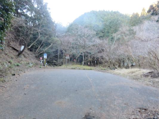 谷太郎川ます釣り場林道終点駐車場