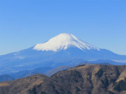 大山登山富士山の景色