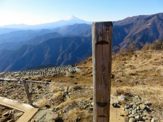三ノ塔山頂