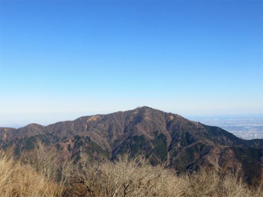 三ノ塔から大山が綺麗