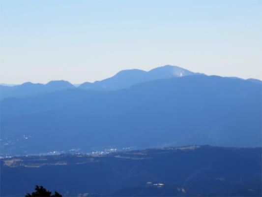 箱根の山大涌谷