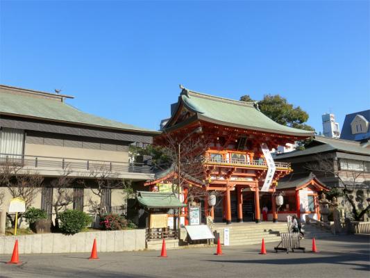 生田神社へ参拝