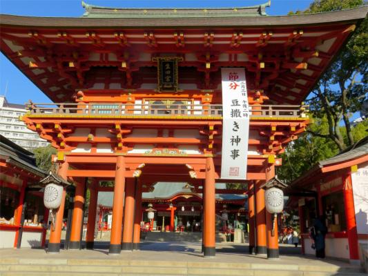 生田神社節分の豆まきの時期