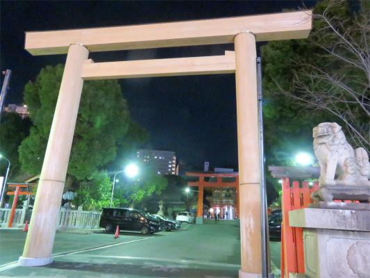 生田神社夜の散策