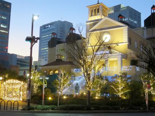 神戸ハーバーランドにある結婚式場