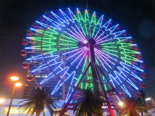 神戸ベイリアの夜景