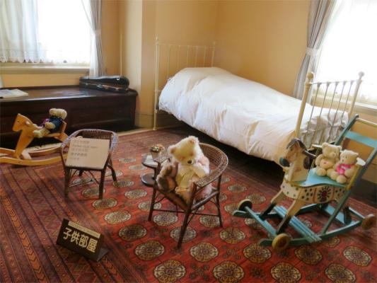 萌黄の館の子供部屋