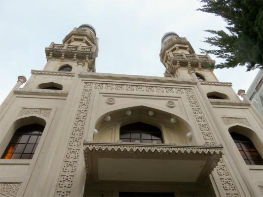 神戸ムスリムモスクの正面