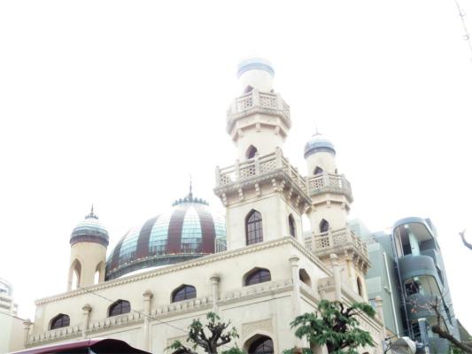 神戸ムスリムモスク玉ねぎのような屋根