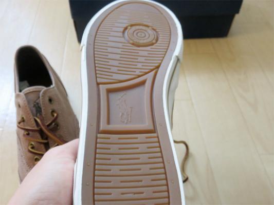 POLO靴の裏