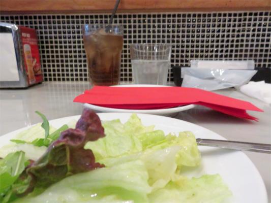 アズーリのランチグリーンサラダ