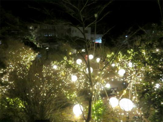 箱根の夜の観光スポット