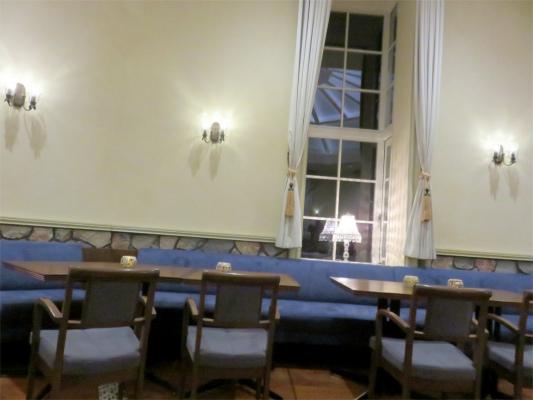 一色堂茶廊の内部の様子