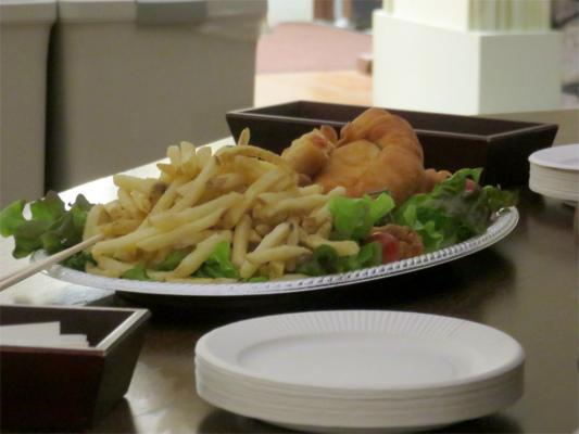 一色堂茶廊内覧会に来た方の為に、食べ物、飲み物