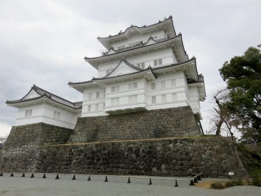 小田原城は鉄筋コンクリート製