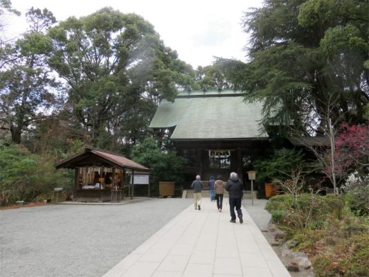 報徳二宮神社の境内