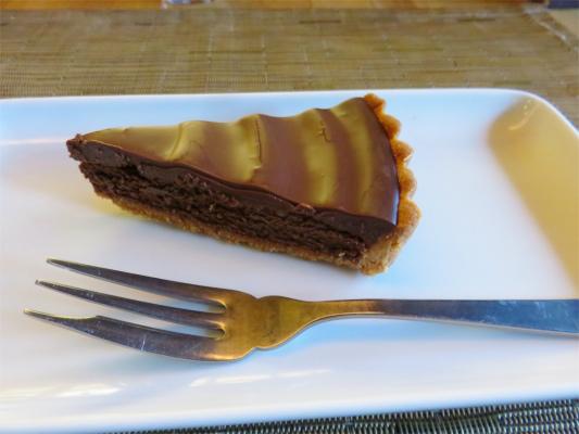 甘過ぎ、ビターな感じ楽しめるチョコレートケーキ
