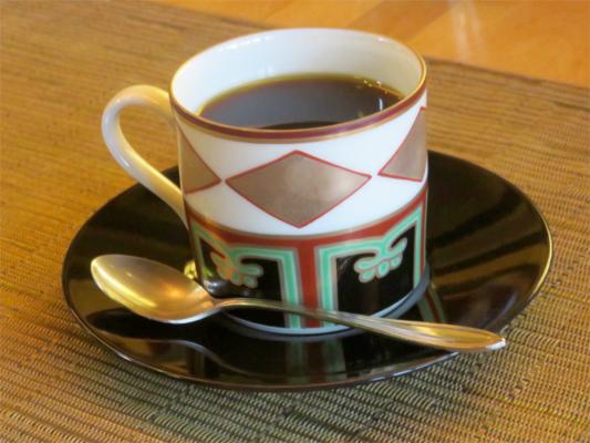 天山うかれ雲の名物ホットコーヒー
