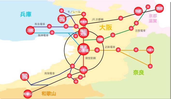 551蓬莱店舗エリア図