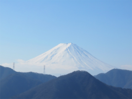 秀麗富嶽十二景笹子雁ヶ腹摺山から富士山
