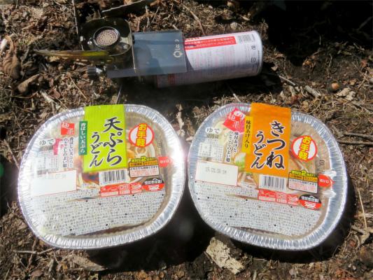 天ぷらとキツネうどん