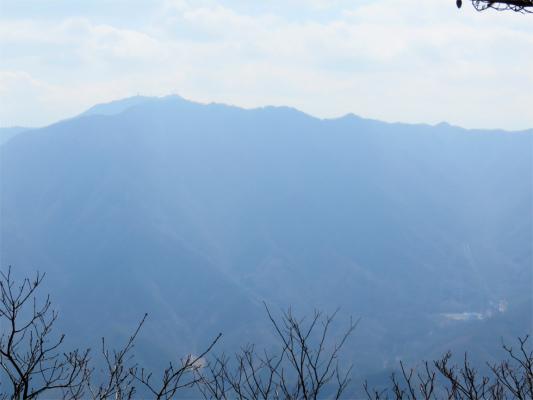 お坊山から三つ峠展望