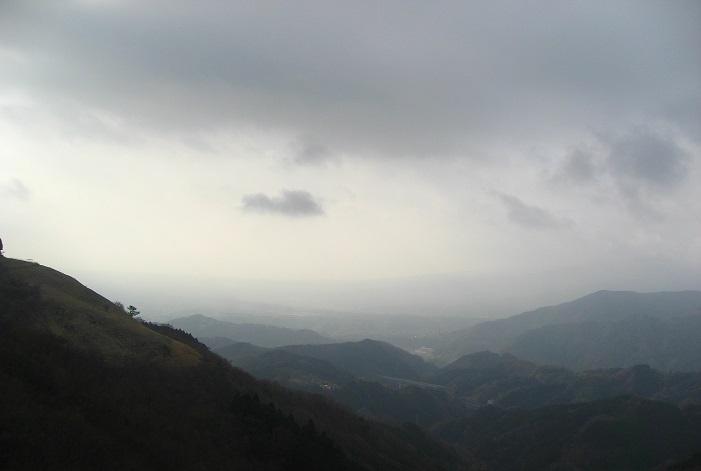 大野山ガスガスな展望