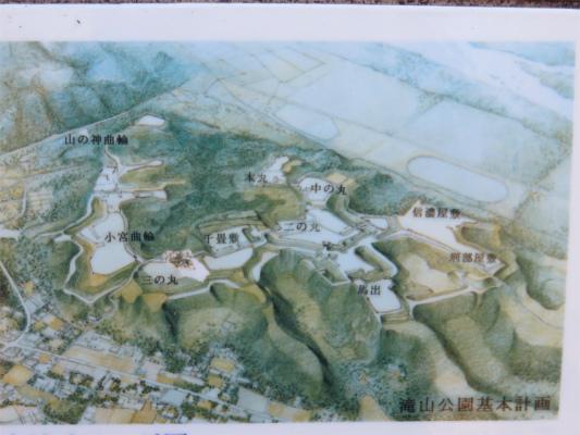落城する前の八王子城