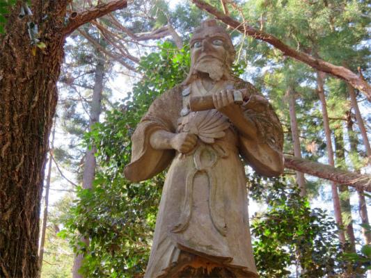 八王子神社像