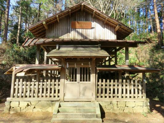 八王子神社の外観