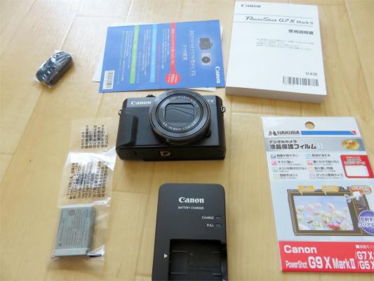 ANONデジタルカメラPowershot G7 X MarkⅡの付属品